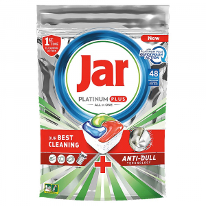 JAR Tablety do umývačky Platinum Plus All in 1 QuickWash 48 ks