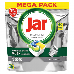 JAR Tablety do umývačky Platinum All-in-One 60 ks