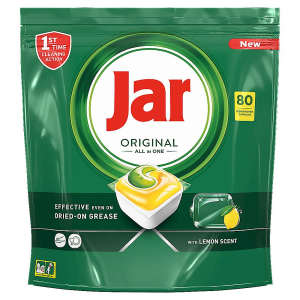 JAR Tablety do umývačky Lemon 80 ks