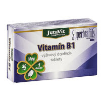 JUTAVIT Vitamín B1 - 10 mg 30 tabliet