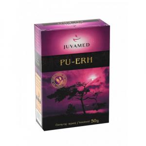 JUVAMED Pu-erh čierny sypaný čaj 50 g