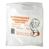 Nohavičky ortopedické dojčenské veľkosť č. 1 suchý zips