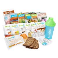 KetoDiet proteínová diéta ochutnávkový balíček na 3 dny 15 porcí