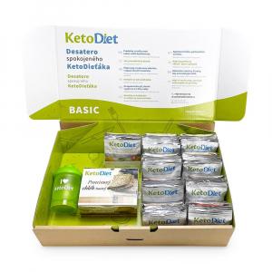 KETODIET Proteínová diéta BASIC 1. krok 70 porcií VÝHODNÉ balenie