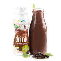 KETOLIFE Proteínový drink s čokoládovou príchuťou 250 ml