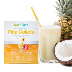KETODIET Proteínový nápoj príchuť Piňa Colada 7 porcií