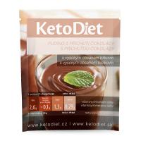 KETODIET Proteínový puding s čokoládovou príchuťou 7 porcií