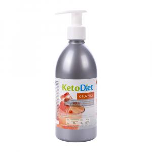 KETODIET Sirup bez cukru s príchuťou Orange 500 ml