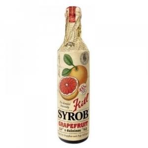 KITL Syrob grapefruit s dužinou 500 ml - sirup na prípravu domácich limonád