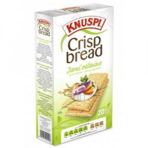KNUSPI Crispbread jarná zelenina 150 g