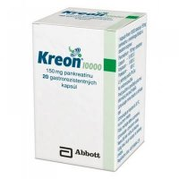 Kreon 10 000 cps end 150 mg  (fľ.HDPE) 1x50 ks