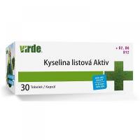 VIRDE Kyselina listová Aktiv 30 kapsúl