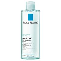 LA ROCHE-POSAY Effaclar čistiaca micelárna voda Ultra pre mastnú citlivú pleť 400 ml
