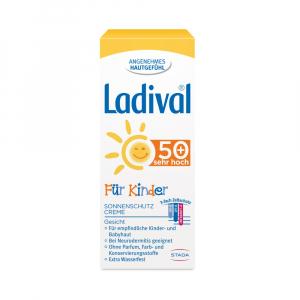 LADIVAL Pre deti FACE SPF 50+ krém na opaľovanie 50 ml