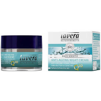 LAVERA Basis Sensitiv Nočný krém Q10 50 ml