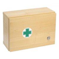 Lekárnička drevená s náplňou do 5 osôb ZM 05