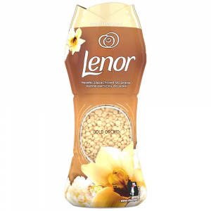 LENOR Vonné Perličky Do Prania S Gold Orchid 210 g
