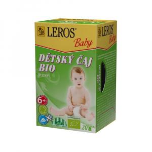 LEROS BABY Detský čaj BIO Bylinný 20x2 g