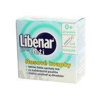 LIBENAR pre deti nosové kvapky 15x5 ml