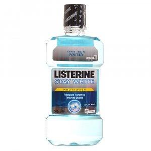 LISTERINE Stay White ústna voda 500 ml