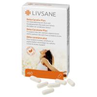 LIVSANE Betakarotén Plus 60 kapsúl