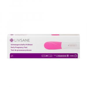 LIVSANE Včasný tehotenský test 1 ks