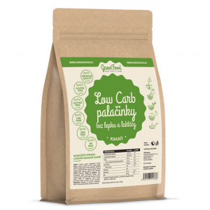 GREENFOOD NUTRITION Low carb palacinky bez lepku a laktózy kakao 500 g