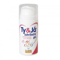 Lubrikačný gél Ty & Ja parfumovaný vôňou jahody 100 ml Dr. Müller