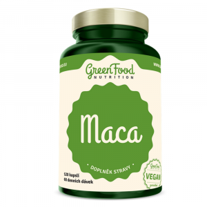 GREENFOOD NUTRITION Maca 120 kapsúl