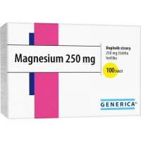 GENERICA Magnesium 250 mg 100 tabliet