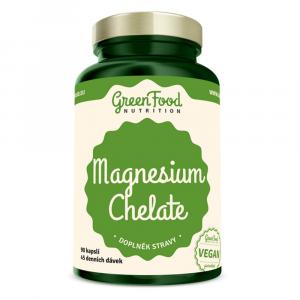 GREENFOOD NUTRITION Magnézium chelát 90 kapsúl