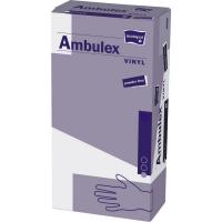 MATOPAT Ambulex Vinyl rukavice vinylové nepudrované L 100 kusov