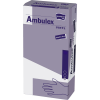 MATOPAT Ambulex Vinyl rukavice vinylové nepudrované M 100 kusov