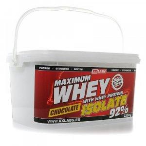 XXLABS Maximum Whey Protein Isolate čokoládový 2200 g