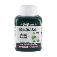 MEDPHARMA Medovka 50 mg + chmeľ + valeriána 67 tabliet