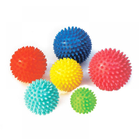 Lopta masážna ježko priemer 7 cm