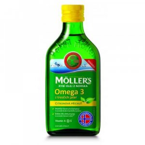 MÖLLER´S Omega 3 Citrón 250 ml