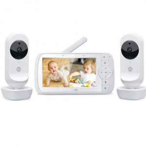 MOTOROLA EASE 35 - 2 detská pestúnka s dvomi kamerami