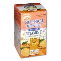 Dr Müller Medvedíky, Vitamín C mandarinka 45 tabliet