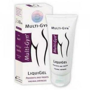 MULTI-GYN LIQUIGEL vaginálny lubrikačný, bioaktívny, na odstránenie suchosti pošvy 30 ml