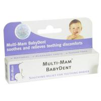 MULTI-MAM BABYDENT gél bioadhezívny na prerezávajúce sa zúbky, 1x15 ml