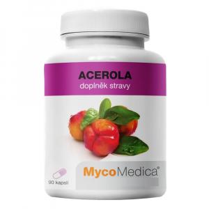 MYCOMEDICA Acerola 90 želatínových kapsúl