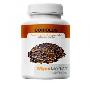 MYCOMEDICA Coriolus 90 rastlinných vegan kapsúl