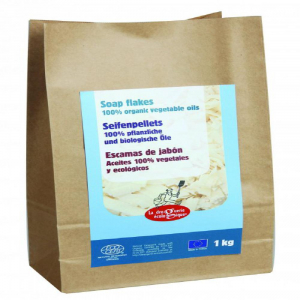 LA DROQUERIE ECOLOGIQUE BY ECODIS Mydlové vločky vrece BIO 1 kg