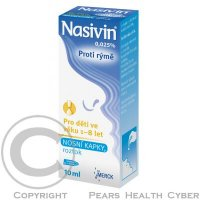 NASIVIN 0,025% INT NAS 1X10ML