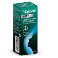 NASIVIN int.nas. 0,05 % 10 ml