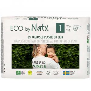 NATY Plienky Newborn 2-5 kg 25 ks