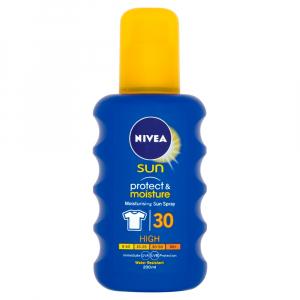 NIVEA Sun Hydratačný sprej na opaľovanie OF 30 200 ml