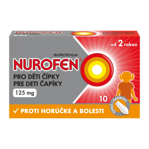 NUROFEN pre deti 125 mg 10 čapíkov