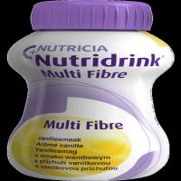 NUTRIDRINK Multifibre s príchuťou vanilky 4x 200 ml